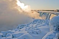 Niagaradalingen - Zonsopgang  Royalty-vrije Stock Foto's