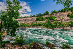 Niagararivier Stock Foto's