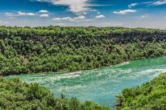 Niagararivier Stock Fotografie