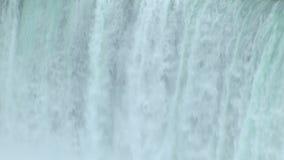 Niagaras falling waters stock footage