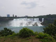 Niagarastad royalty-vrije stock afbeelding