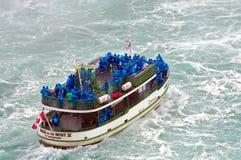 Niagaraval en het Meisje van de Mist Royalty-vrije Stock Afbeeldingen