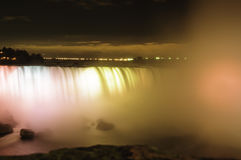 NiagNara Falls Iluminations Royalty Free Stock Photos