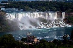 Niagra понижается Онтарио Канада стоковые фотографии rf