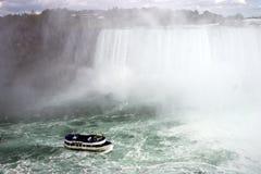 Niagra cade giro della barca Immagini Stock Libere da Diritti