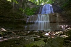 Niagra Escarpment Waterfall Royalty Free Stock Photography