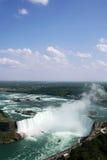 Niagra Falls. Birds eye view of Niagra Falls Horseshoe Falls royalty free stock photography