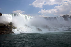 Niagra Falls. Wide shot of Niagra Falls, Canada Stock Photography