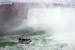 Niagra Falls boat ride Royalty Free Stock Images