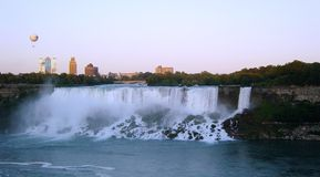 Niagra Falls from Canada Royalty Free Stock Images