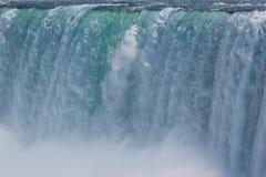 Niagra falls close-up Stock Images