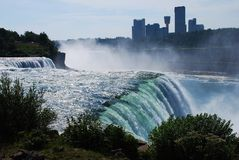 Niagra Falls U.S. side. Stock Image
