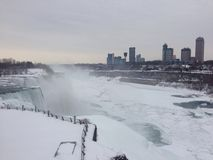 Niagra falls winter Stock Photography