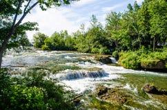 Niagra Fluss Lizenzfreie Stockfotos