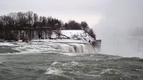 Niagra Fluss lizenzfreies stockbild