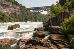 Niagra Fluss Lizenzfreies Stockfoto