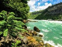 Niagra Fluss Stockfotos