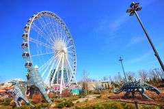 Free Niagra Observation Wheel Stock Image - 117101751