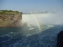 Niagra. Powerful and magnificent royalty free stock images