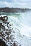 Niagra Spada w zimie Obraz Royalty Free