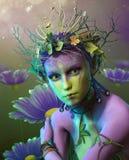 Niamye Sylphe, 3d CG Stock Image