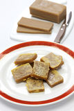 Nian gao, chinese new year rice cake Stock Photography