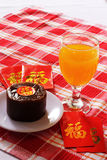 Chinese New Year special cake Royalty Free Stock Images