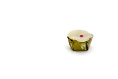 Nian gao  white background. Nian gao is candy pay respect to the Chinese people Royalty Free Stock Images