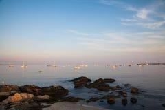 Niantic海湾 库存图片