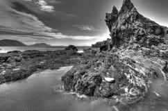 Niarbyl, île de Man Image stock