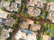 niarela Quizambougou尼日尔巴马科马里空中寄生虫视图  免版税库存图片