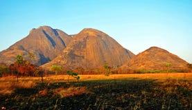 Niassa landskap Landscape_Northern Mocambique Royaltyfri Foto
