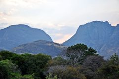 Niassa Province Landscape_Northern Mozambique royalty free stock photo