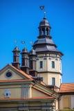 Niasviz城堡 图库摄影