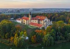 Niasvizh castle, Belarus Stock Photos