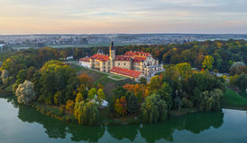 Niasvizh castle, Belarus Stock Photography