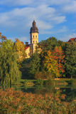 Niasvizh castle, Belarus Royalty Free Stock Image