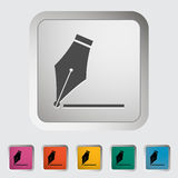 Nib icon Royalty Free Stock Images