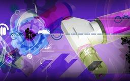 Nibbler do ar Imagens de Stock