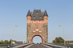Nibelungentower慢行德国 免版税图库摄影