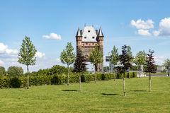 Nibelungentower worms germany. Famous old nibelungen tower in worms germany Stock Photos