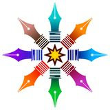 Nibs logo Royalty Free Stock Images