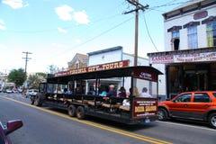 Ônibus de excursão Fotografia de Stock