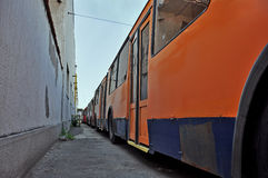 Ônibus de trole Fotografia de Stock Royalty Free
