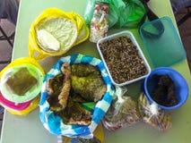 Nicaragua food feast. Comida nicaraguense tradition tourism gastronomy royalty free stock photo