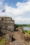 Nicaragua, Fortified castle in El Castillo Royalty Free Stock Photos