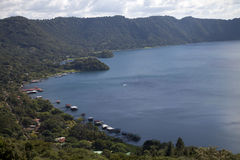 Nicaragua. The ometepe lake in nicaragua Royalty Free Stock Photography