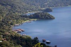 Nicaragua. The ometepe lake in nicaragua Stock Photos