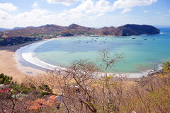 Nicaragua. San Juan Del Sur. San Juan Del sur is a resort on the ocean coast in Nicaragua with beautiful beaches Royalty Free Stock Photography