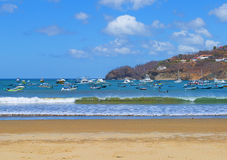 Nicaragua. San Juan Del Sur. San Juan Del sur is a resort on the ocean coast in Nicaragua with beautiful beaches Stock Photography